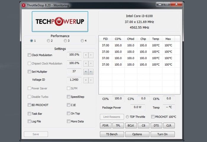 CPU Power Management Software