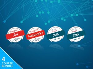 CompTIA Core & Cisco CCNA Bundle, Save 95%
