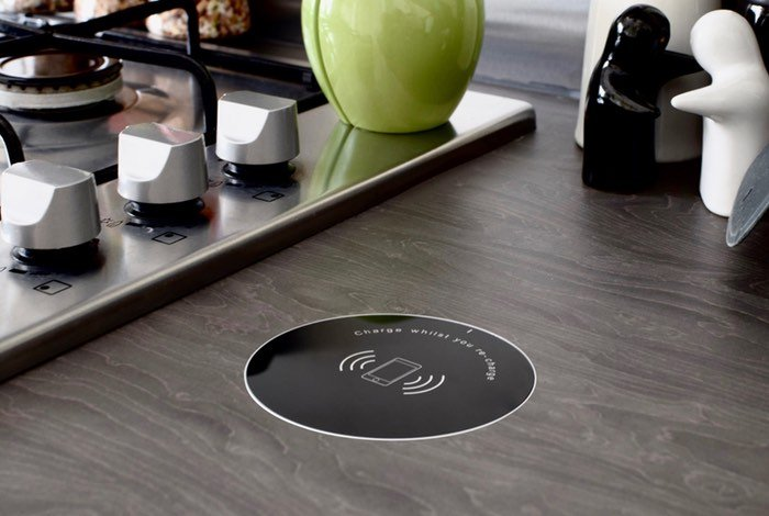 Convenicharge Integrated Wireless Charging Pad Video