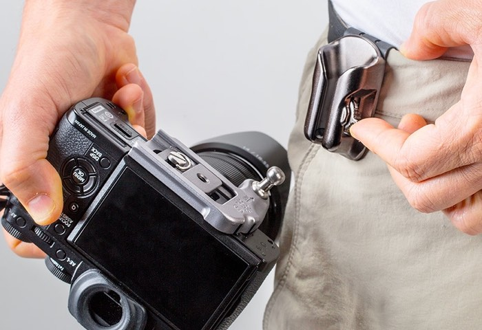 DSLR SpiderLight Holster