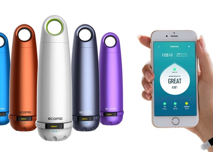 Ecomo Water Bottle Tests And Filters Your Water