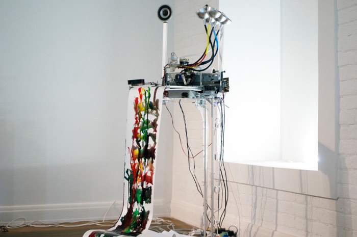 Electropollock Arduino Electro-Mechanical Drawing Machine