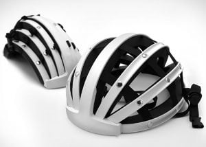 FEND Collapsible Bicycle Helmet (video)