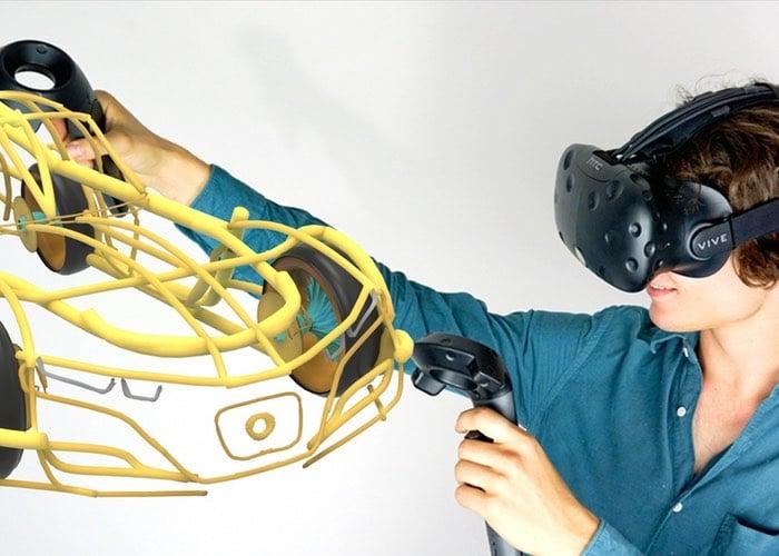 Gravity Sketch Virtual Reality 3D Design Application
