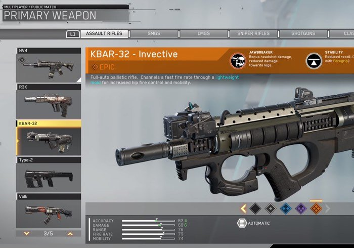 Infinite Warfare Weapon Crafting Overview