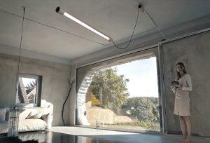 Kiën Light Smart Daylight Lighting System Pays Tribute To Neon Lights (video)