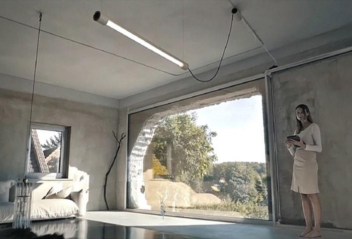 Ki n light smart daylight lighting system pays tribute to neon lights video geeky gadgets - Interior smart lighting ...