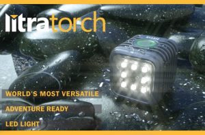 LitraTorch Action Camera Versatile Waterproof LED Lighting System (video)