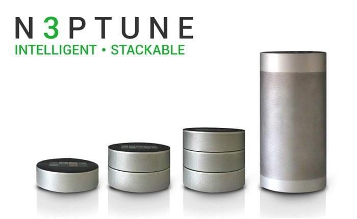 N3ptune Audio stackable wireless speakers