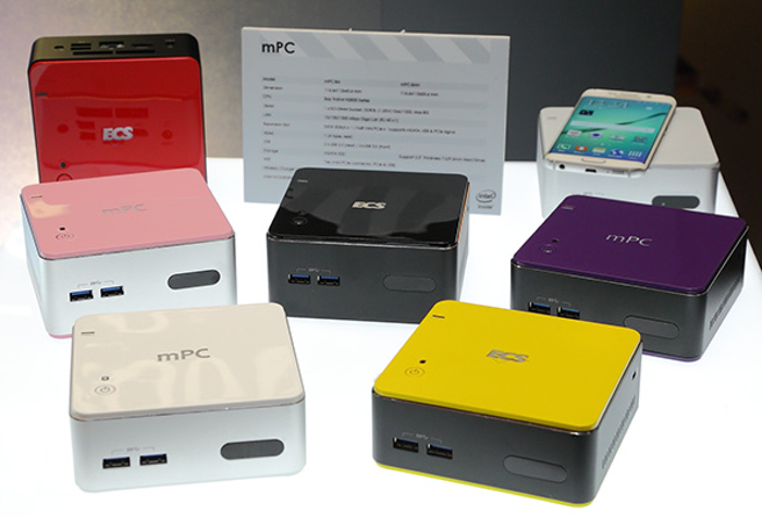 New ECS mPC Gen2 Mini PC Range