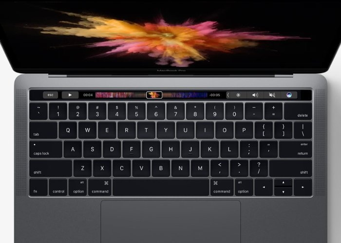 New MacBook Pro Touch Bar And Touch ID