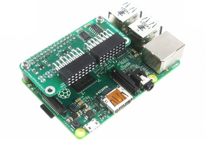 New PiShield Raspberry Pi Sensor Interface Board
