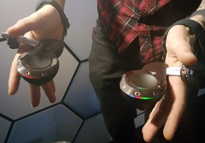 New Valve Prototype VR Controllers