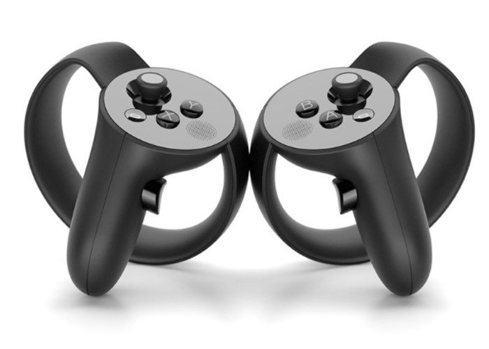 Oculus Touch Virtual Reality Controllers