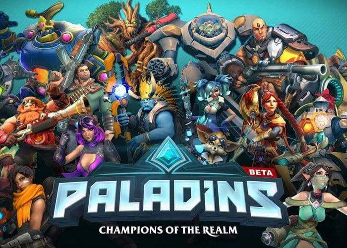 Paladins Closed Beta PS4