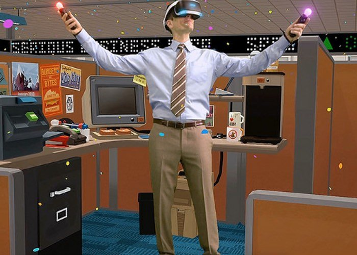 PlayStation VR Job Simulator