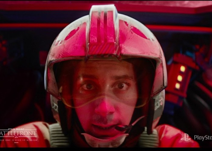PlayStation VR Star Wars Battlefront Rogue One X-wing VR Mission Trailer