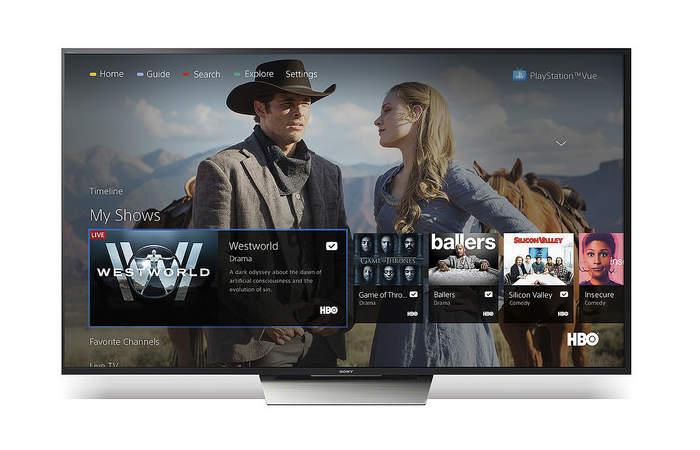 PlayStation Vue Lands On Android TV