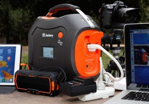Jackery Power Pro 578 Watt-Hour Portable Battery And Generator (video)