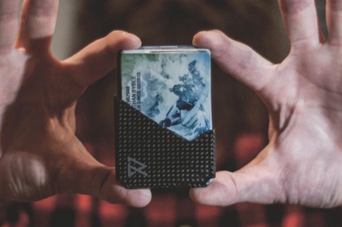 RAVEAN Minimalist GPS, RFID Blocking Wallet