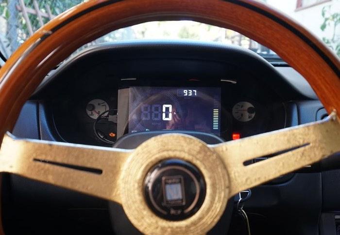 Raspberry Pi Powered In-Car Dashboard