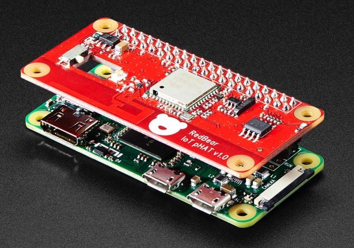 Raspberry Pi Red Bear IoT pHAT