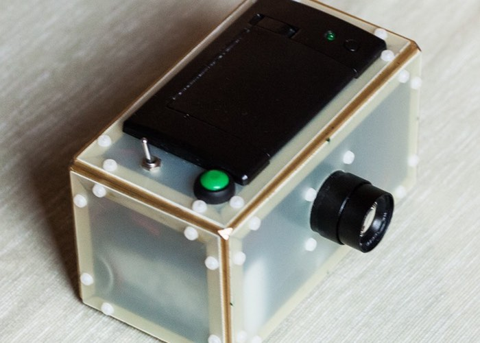 Raspberry Pi Thermal Polaroid Camera
