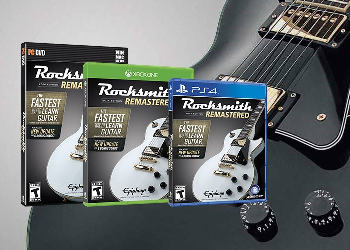 learn how to play the guitar with rocksmith 2014 edition remastered video geeky gadgets. Black Bedroom Furniture Sets. Home Design Ideas