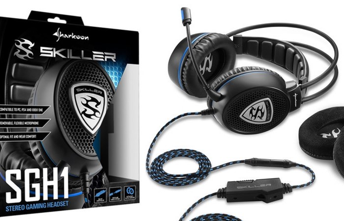 SKILLER SGH1 stereo gaming headset