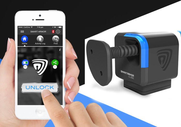 Smart Cube Bluetooth Enabled Portable Lock