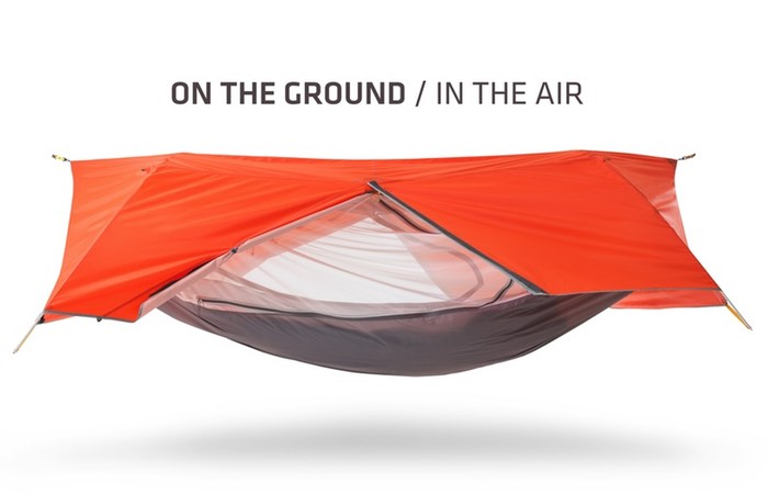 Sunda All-in-One Tent And Hammock