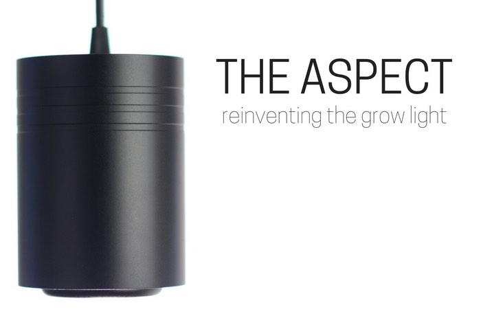 The Aspect, The Growing Light Reinvented For Interiors (video)