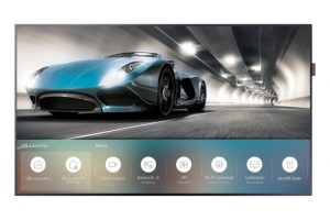 Samsung Launches New Tizen Powered Displays