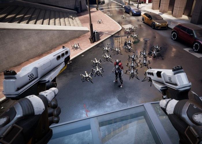 VR Game Robo Recall Gameplay