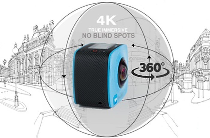 Vyu360 Waterproof 4K Ultra HD Camera