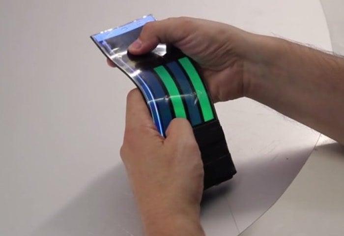 WhammyPhone Bendable Smartphone Prototype