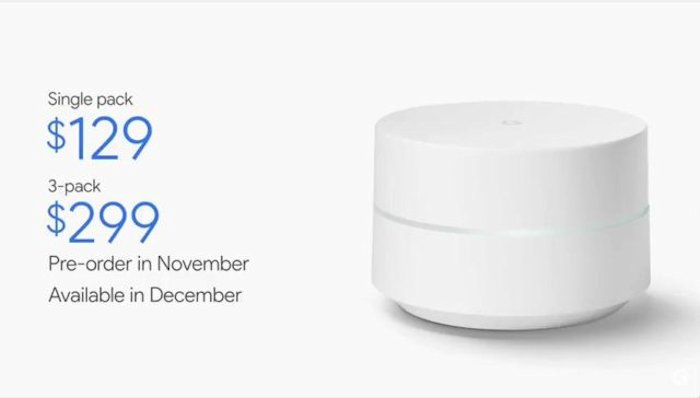 Google Wifi Gets Official - Geeky Gadgets