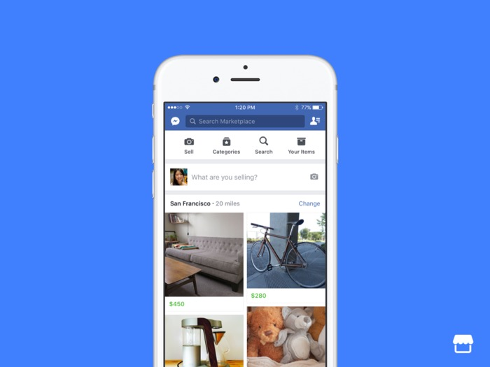 Facebook Launches Marketplace To Help You Sell Your Stuff