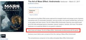 Mass Effect Andromeda Release Date Likely Revealed