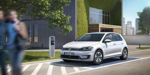 2017 VW e-Golf goes up to 124 miles Per Charge