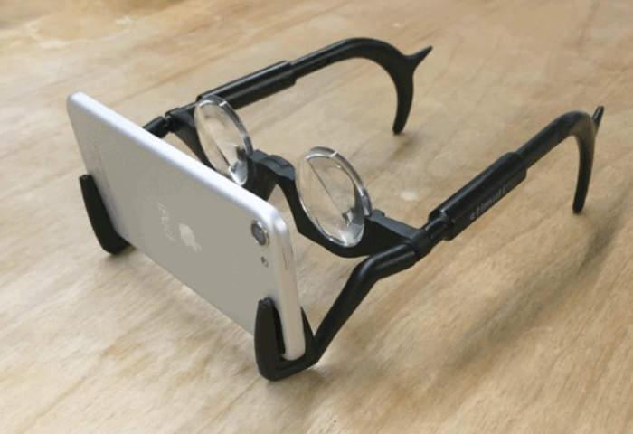 2VR Minimal Virtual reality Headset