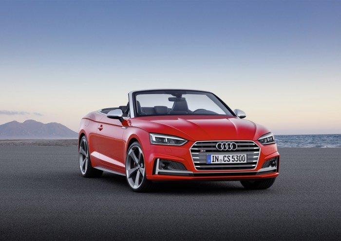 New Audi A5 And S5 Cabriolet