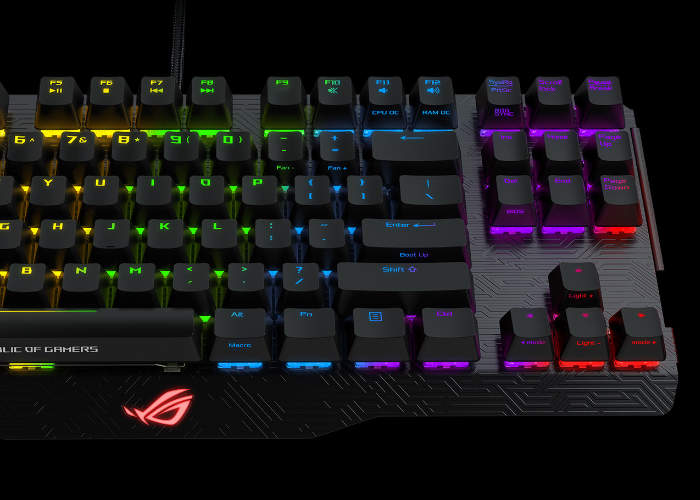 ASUS ROG Claymore Series Keyboards