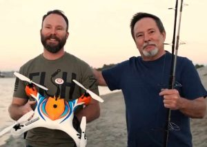 AguaDrone Waterproof Drone Equipped With Fish Finder, Bait Dropped And More (video)