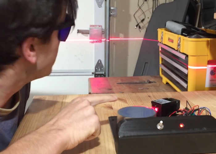Arduino Laser Sky Effect Generator