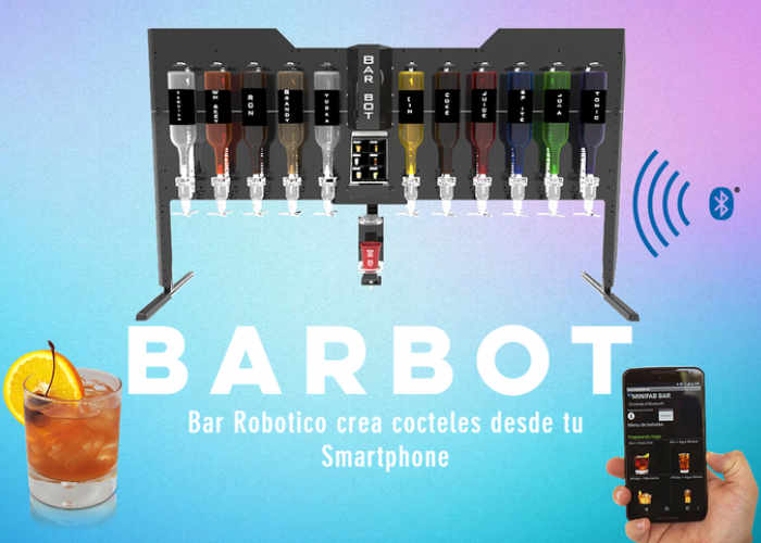 Cocktail Mixing Bar Robot