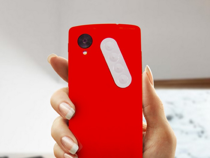 Dimple 4-Button NFC Sticker