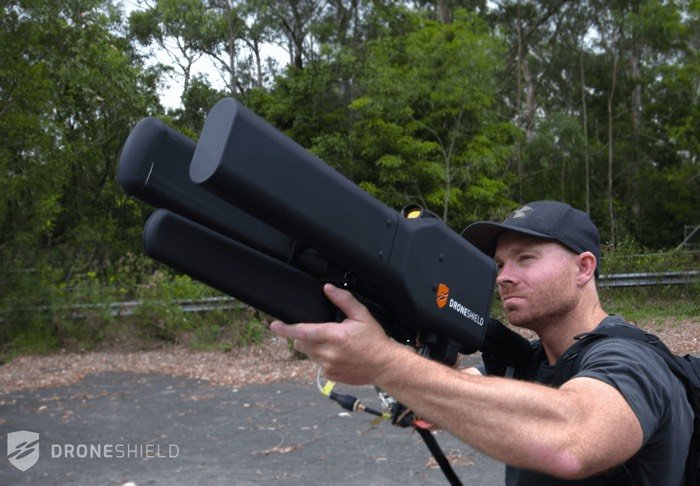 New anti-drone gun can take down targets from 2 km away