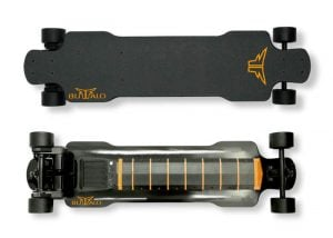 Buffalo F1 Dual Motor Electric Skateboard Hits Kickstarter (video)