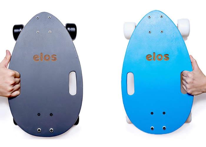 Elos Skateboard Designed For Last Mile Transport